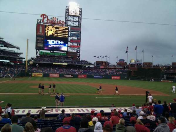 Citizens Bank Park, section: 117, row: 14, seat: 14
