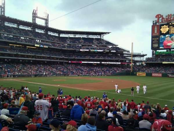 Citizens Bank Park, section: 112, row: 22, seat: 10