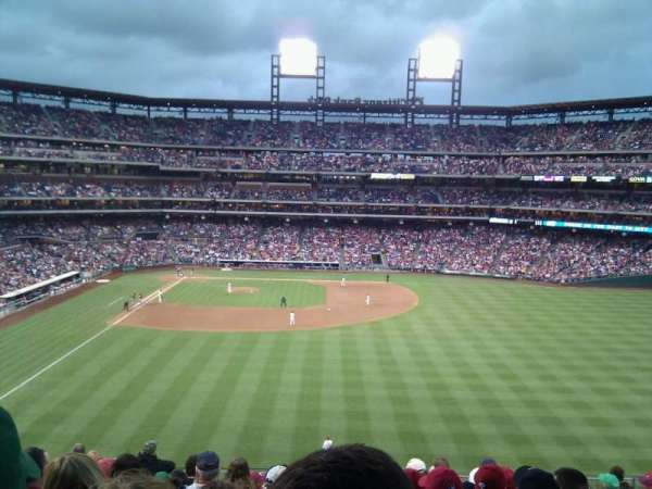 Citizens Bank Park, section: 203, row: 11, seat: 15