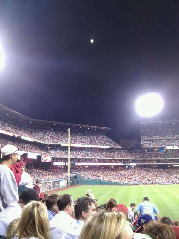 Citizens Bank Park, section: 147, row: 18, seat: 11