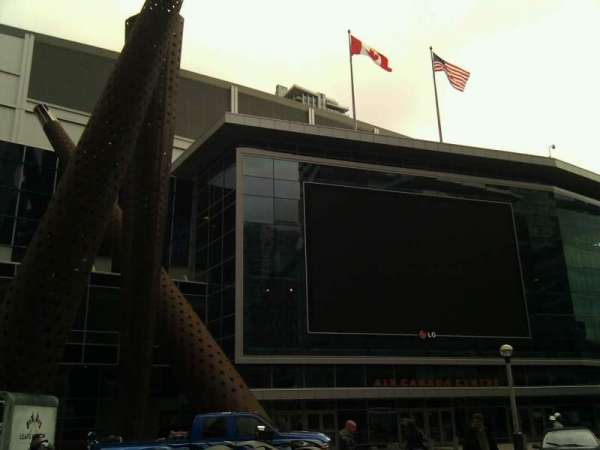 Scotiabank Arena, section: Outside