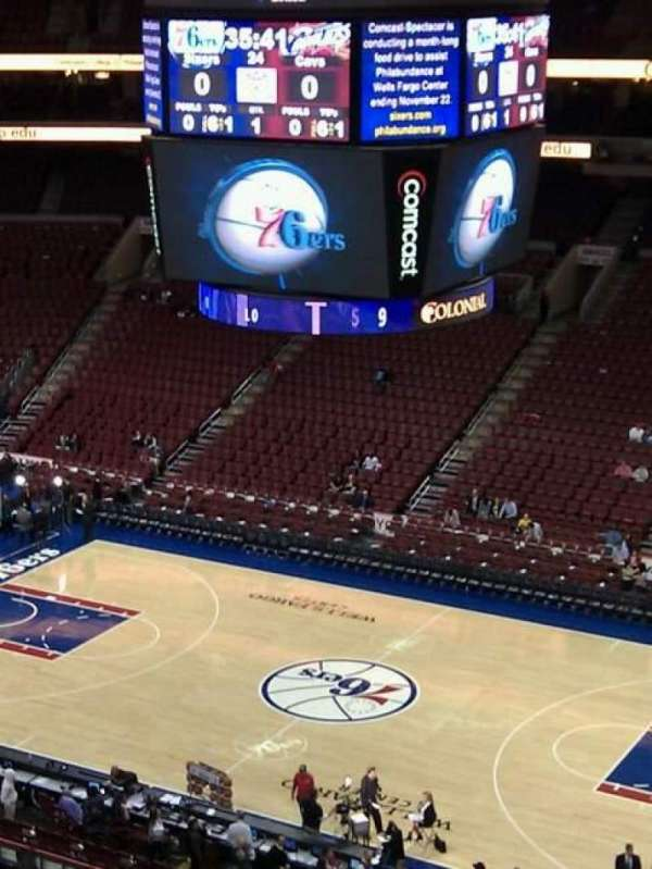 Wells Fargo Center, section: 203, row: 5, seat: 8