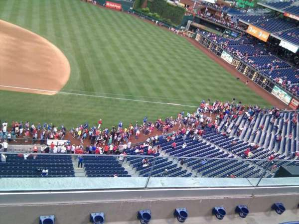 Citizens Bank Park, section: 314, row: 4, seat: 18