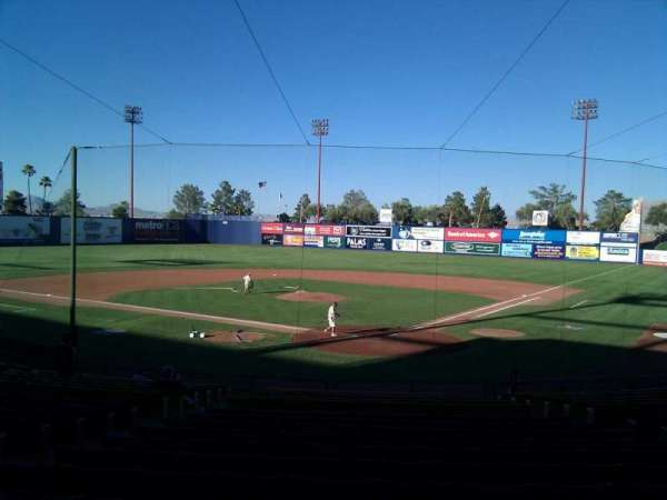 Cashman Field, section: 11, row: t, seat: 9