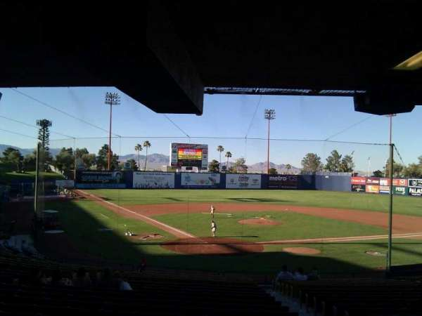 Cashman Field, section: 13, row: w, seat: 13