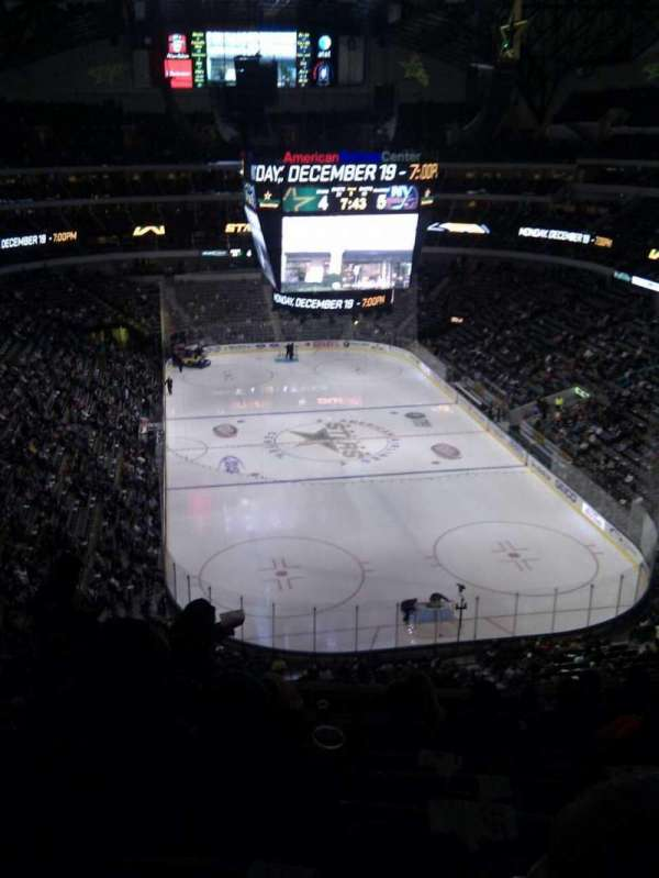 American Airlines Center, section: 302, row: e, seat: 11