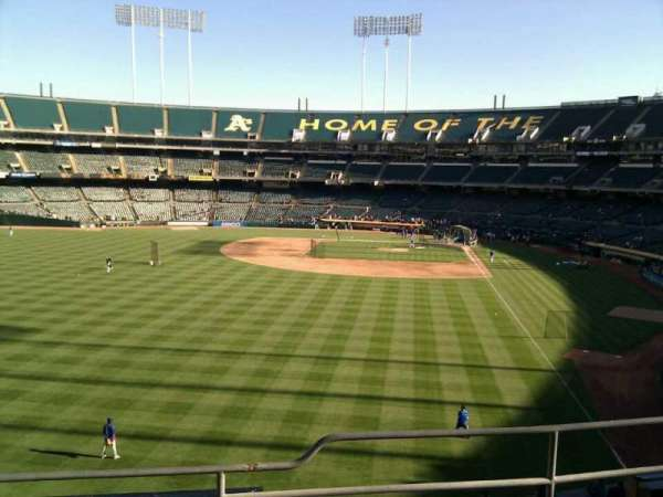 Oakland Coliseum, section: 233, row: 4, seat: 10