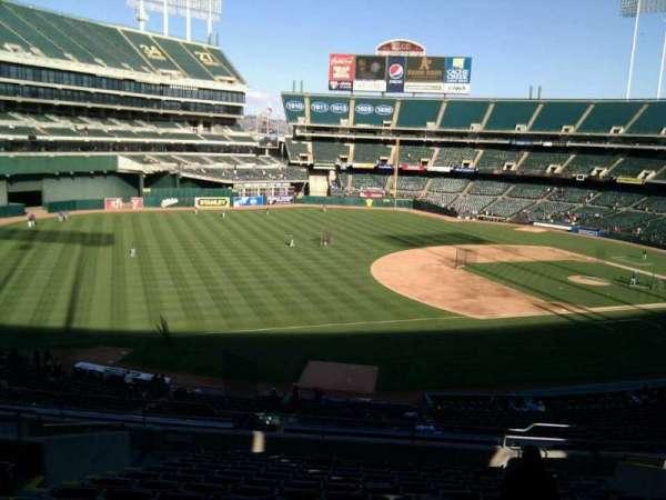 Oakland Coliseum, section: 226, row: 15, seat: 18