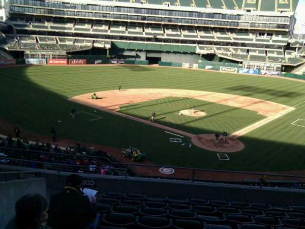 Oakland Coliseum, section: 218, row: 9, seat: 20