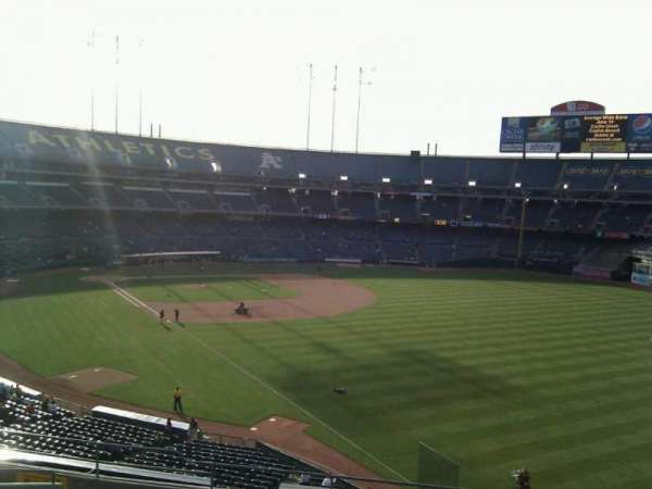 Oakland Coliseum, section: 204, row: 11, seat: 7