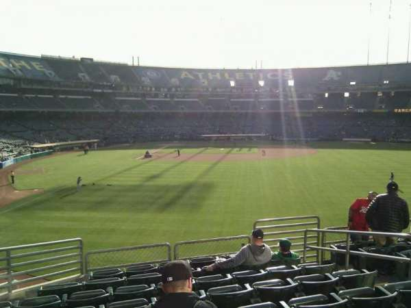 Oakland Coliseum, section: 150, row: 35, seat: 7
