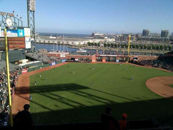 AT&T Park, section: 331, row: 3, seat: 8