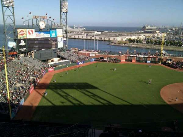 Oracle Park, section: VR328, row: 15, seat: 24