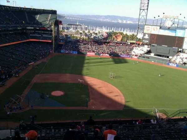 AT&T Park, section: 308, row: 12, seat: 19