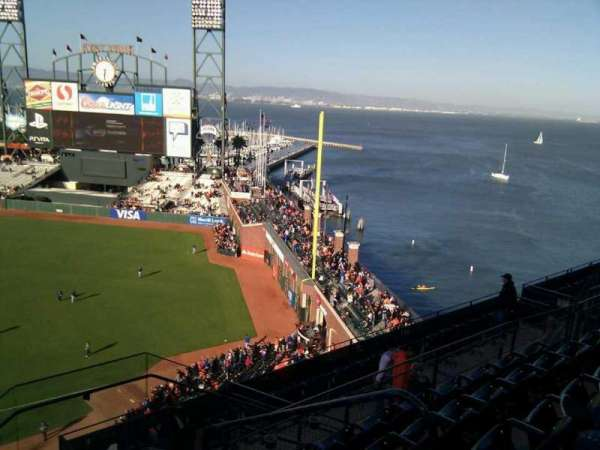AT&T Park, section: 305, row: 5, seat: 3