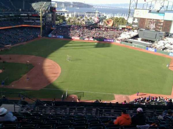 Oracle Park, section: VR304, row: 10, seat: 17