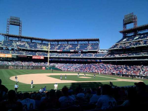 Citizens Bank Park, section: 133, row: 27, seat: 12