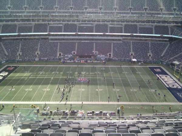 MetLife Stadium, section: 313, row: 16, seat: 18
