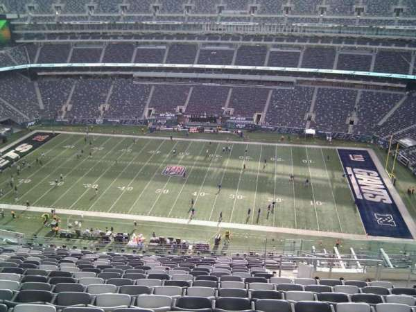 MetLife Stadium, section: 312, row: 20, seat: 7