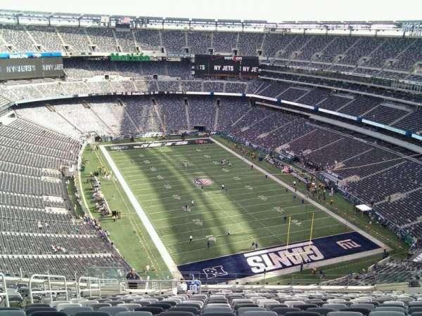 MetLife Stadium, section: 304, row: 25, seat: 23