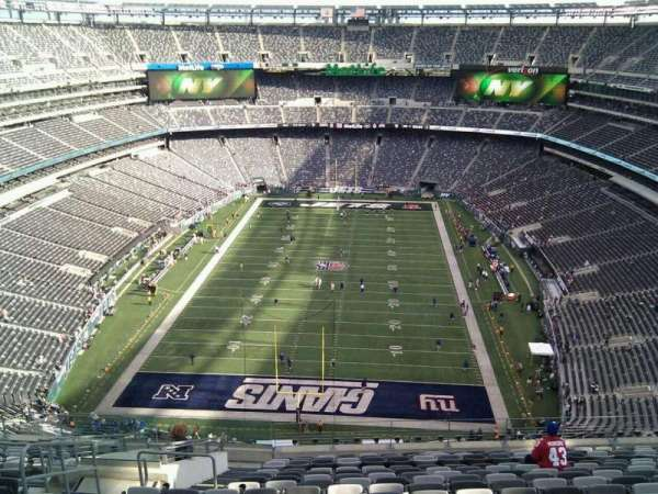 MetLife Stadium, section: 301, row: 20, seat: 23