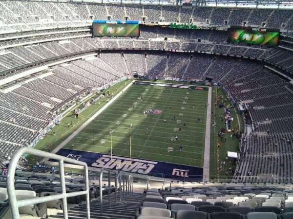 Metlife Stadium Floor Plan: MetLife Stadium, Section 350, Home Of New York Jets, New