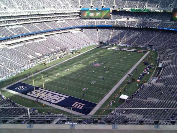 MetLife Stadium, section: 347, row: 10, seat: 8