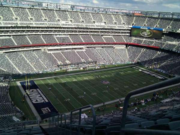 MetLife Stadium, section: 344, row: 25, seat: 1
