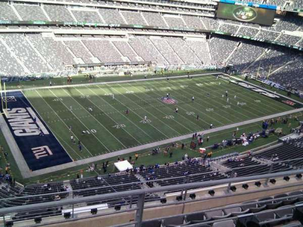 MetLife Stadium, section: 343, row: 6, seat: 18