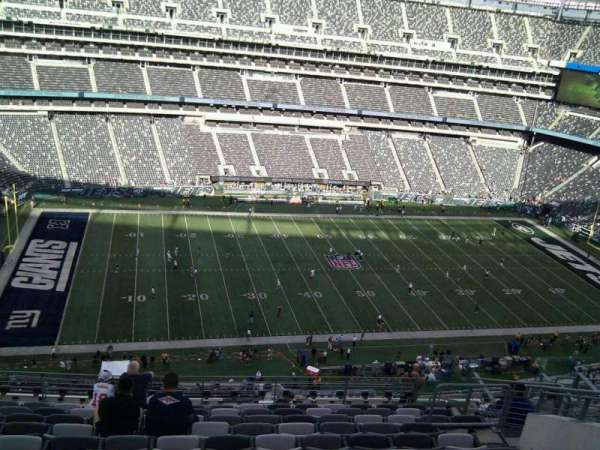 MetLife Stadium, section: 341, row: 15, seat: 11
