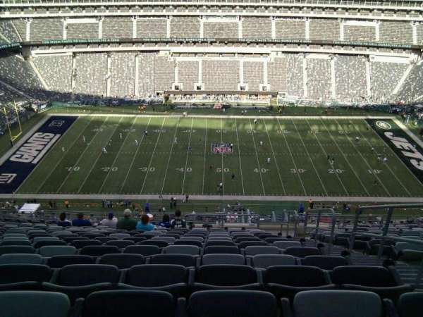 MetLife Stadium, section: 339, row: 23, seat: 3
