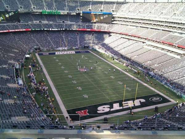 MetLife Stadium, section: 329, row: 11, seat: 12