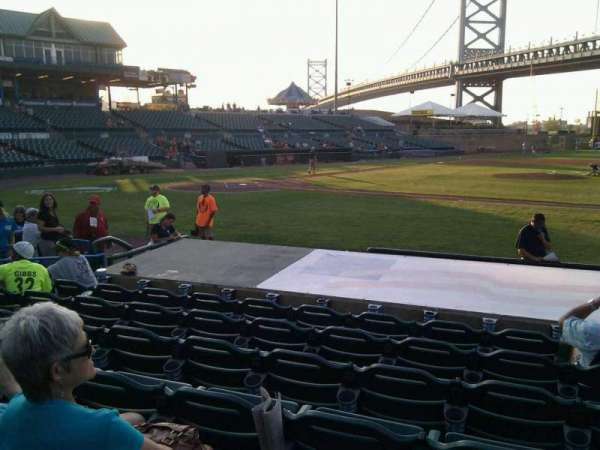 Campbell's Field, section: 106, row: j, seat: 2