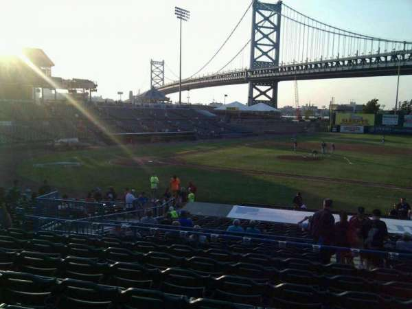 Campbell's Field, section: 205, row: u, seat: 8