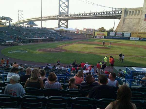 Campbell's Field, section: 205, row: t, seat: 7
