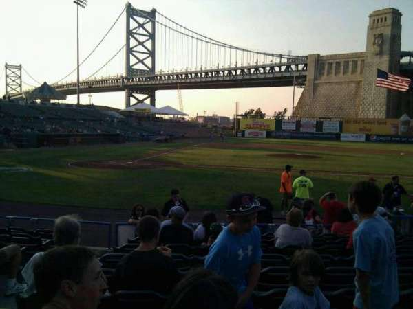 Campbell's Field, section: 107, row: k, seat: 9