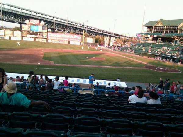Campbell's Field, section: 215, row: w, seat: 12