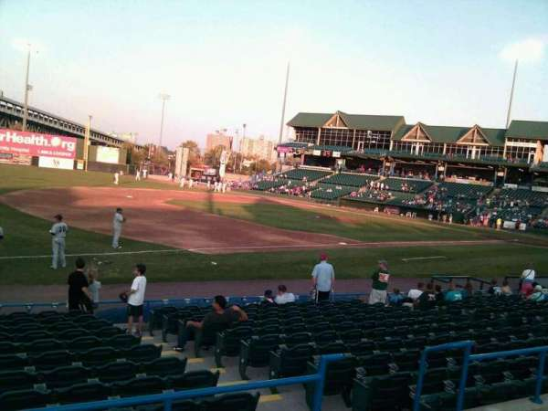 Campbell's Field, section: 217, row: m, seat: 11