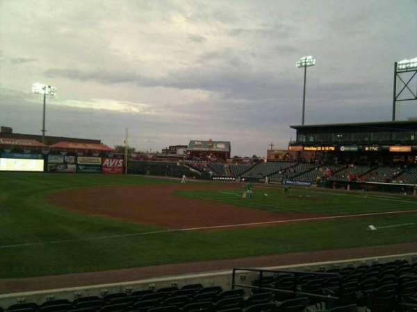 Clipper Magazine Stadium, section: 25, row: k, seat: 8