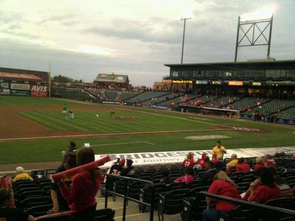 Clipper Magazine Stadium, section: 23, row: o, seat: 3