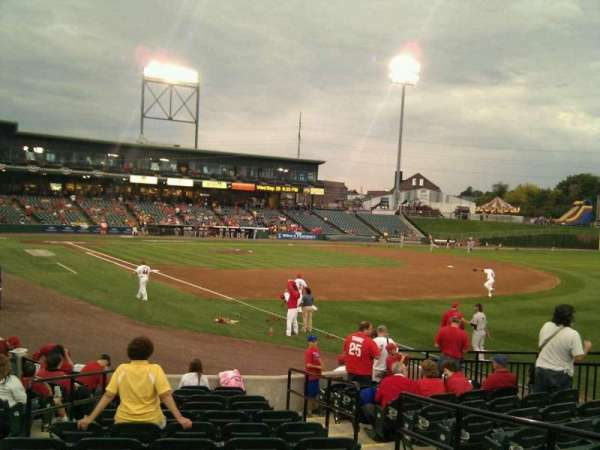 Clipper Magazine Stadium, section: 2, row: m, seat: 4