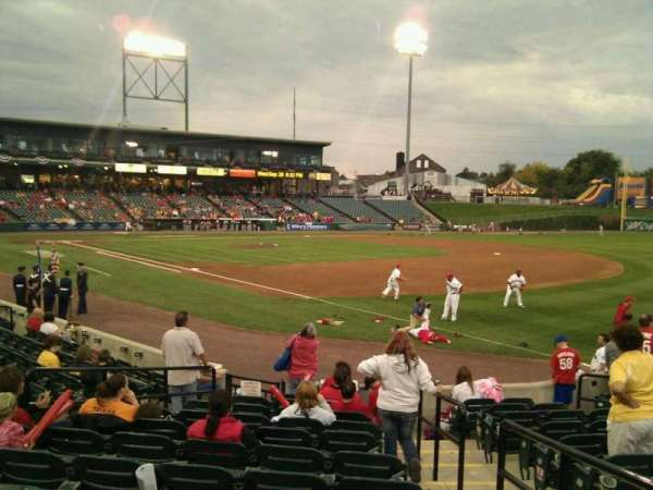 Clipper Magazine Stadium, section: 3, row: l, seat: 2