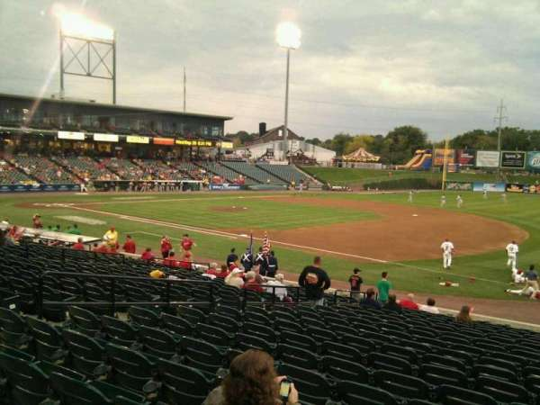 Clipper Magazine Stadium, section: 4, row: t, seat: 12