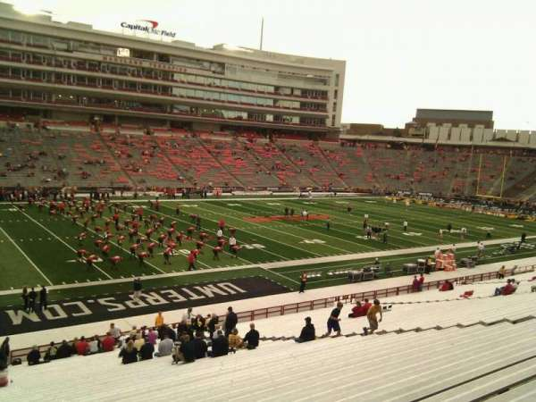 Maryland Stadium, section: 2, row: pp, seat: 13