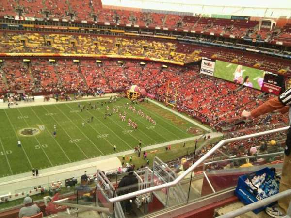 FedEx Field, section: 429, row: 10, seat: 5