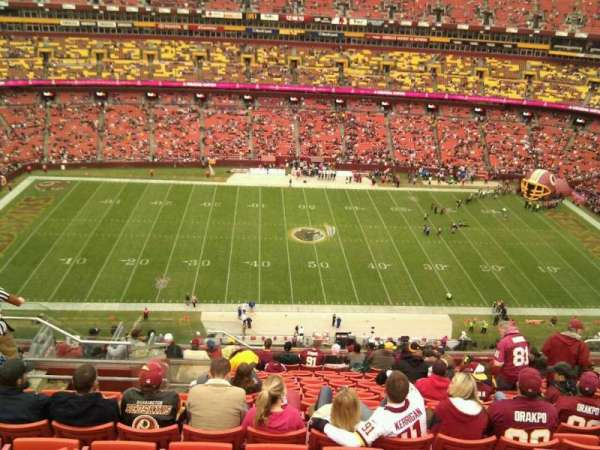 FedEx Field, section: 428, row: 16, seat: 20