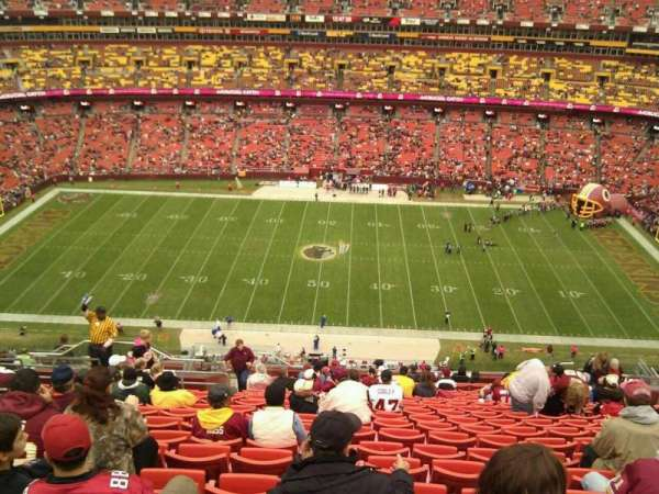 FedEx Field, section: 427, row: 21, seat: 18