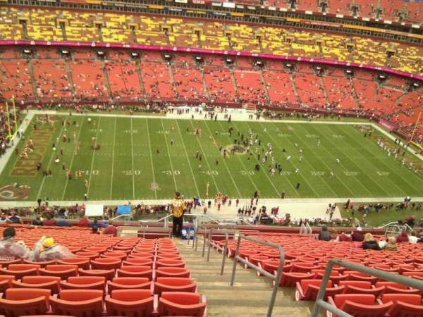 FedEx Field, section: 403, row: 23, seat: 1