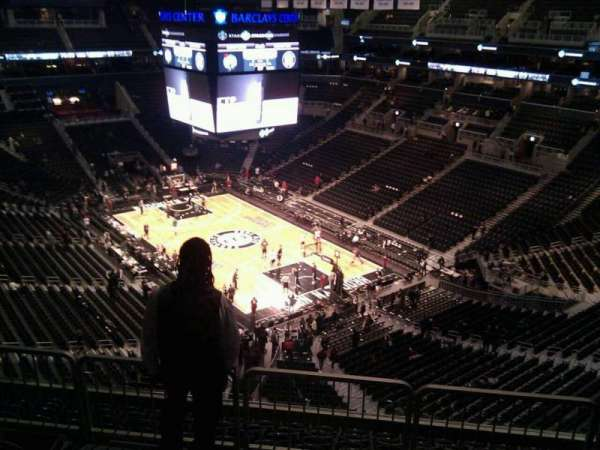 Barclays Center, section: 203, row: 11, seat: 6