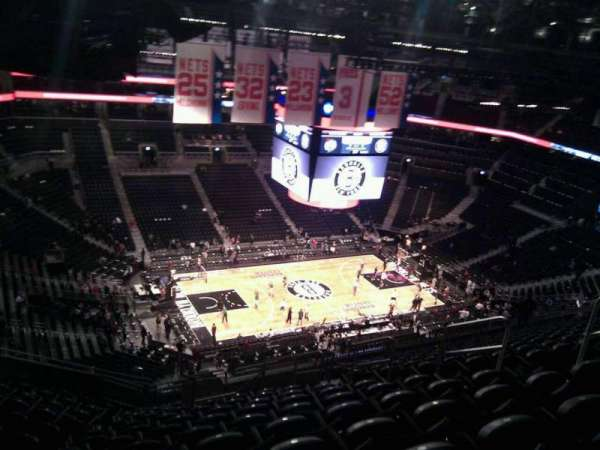Barclays Center, section: 211, row: 17, seat: 9